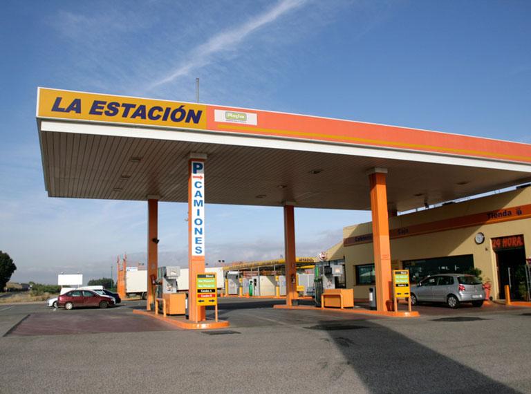 Gasolineras en Sevilla provincia