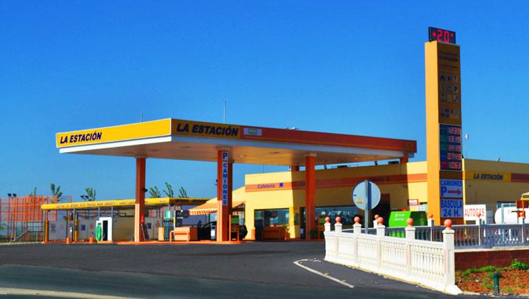 Gasolineras en Sevilla